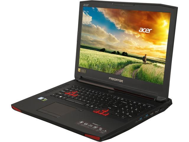 "Refurbished: Acer Predator 17 G9-793-78CM 17.3"" Intel Core i7 6th Gen 6700HQ (2.60 GHz) NVIDIA GeForce GTX 1070 16 GB Memory 256 GB SSD 1 TB HDD Windows 10 Home 64-Bit Gaming Laptop (Manufacturer Recertified)"