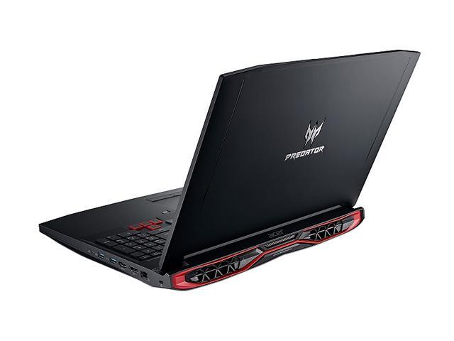 "Refurbished: Acer Predator G9-793-79D9 17.3"" 4K/UHD Intel Core i7 6th Gen 6700HQ (2.60 GHz) NVIDIA GeForce GTX 1070 64 GB Memory 512 GB SSD 2 TB HDD Windows 10 Home Gaming Laptop (Manufacturer Recertified)"