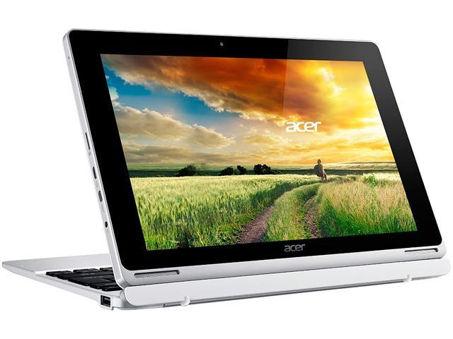 "Refurbished: Acer Aspire Switch 10 SW5-015-12KL Intel Atom Z3735F (1.33 GHz) 2 GB Memory 32 GB Flash Intel HD Graphics 10.1"" Touchscreen 1280 x 800 Detachable 2-in-1 Laptop Windows 10 Home 32-Bit (Manufacturer Recertified)"