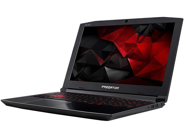 "Refurbished: Acer Predator Helios 300 G3-571-77QK 15.6"" Intel Core i7 7th Gen 7700HQ (2.80 GHz) NVIDIA GeForce GTX 1060 16 GB Memory 256 GB SSD Windows 10 Home 64-Bit Gaming Laptop (Manufacturer Recertified)"