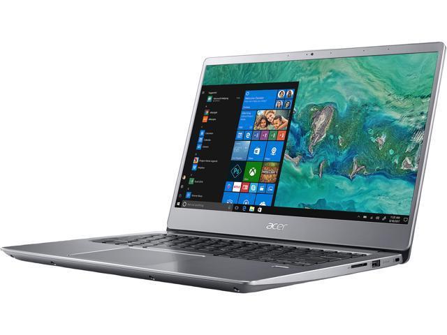 "Acer Laptop Swift 3 SF314-54-56L8 Intel Core i5 8th Gen 8250U (1.60 GHz) 8 GB Memory 256 GB SSD Intel UHD Graphics 620 14.0"" IPS Windows 10 Home 64-Bit"