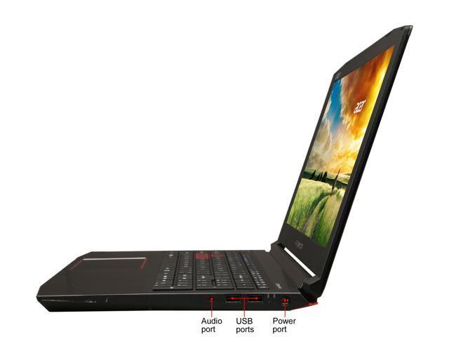 "Refurbished: Acer PH315-51-78NP 15.6"" 144 Hz IPS Intel Core i7 8th Gen 8750H (2.20 GHz) NVIDIA GeForce GTX 1060 16 GB Memory 256 GB SSD Windows 10 Home 64-Bit Gaming Laptop (Manufacturer Recertified)"