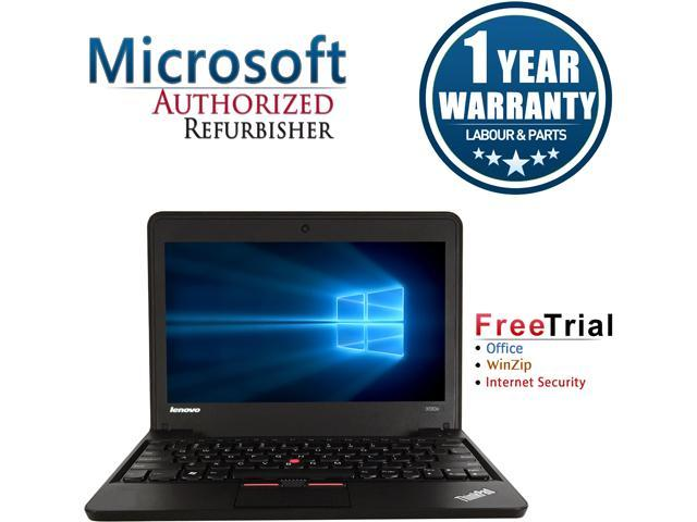 """Refurbished: Refurbished Lenovo ThinkPad X131E 11.6"""" AMD E2 1800 1.7GHz 4GB DDR3 320GB Windows 10 Home 64 Bits 1 Year Warranty"""
