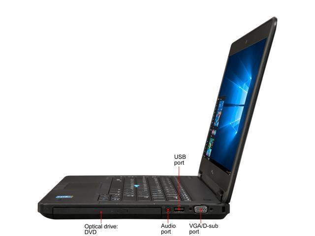 "Refurbished: DELL B Grade Laptop Latitude E5440 Intel Core i5 4th Gen 4300U (1.90 GHz) 4 GB Memory 320 GB HDD 14.0"" Windows 10 Home 64-Bit"
