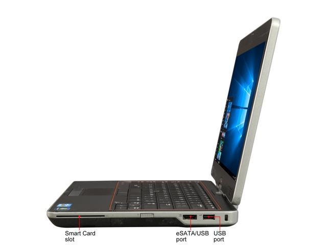"Refurbished: DELL XT3 Intel Core i5 2nd Gen 2520M (2.50 GHz) 4 GB Memory 128 GB SSD 13.3"" Convertible Grade B 2-in-1 Laptop Windows 10 Pro 64-bit"