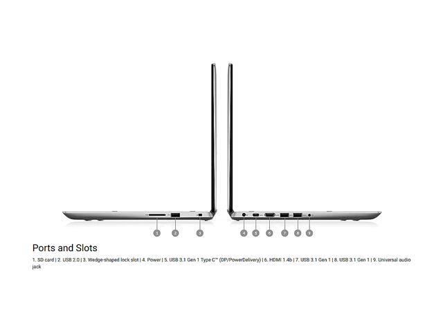 "Refurbished: DELL Inspiron 14-5482 Intel Core i7 8th Gen 8565U (1.80 GHz) 8 GB Memory 256 GB SSD 14"" Touchscreen 1920 x 1080 Convertible 2-in-1 Laptop Windows 10 Home 64-bit"