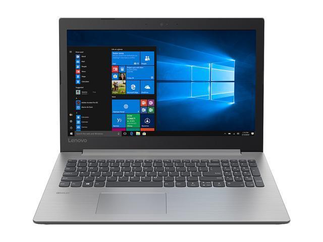 "Lenovo Laptop IdeaPad 330 81DE00L0US Intel Core i5 8th Gen 8250U (1.60 GHz) 8 GB Memory 256 GB SATA SSD SSD Intel UHD Graphics 620 15.6"" Windows 10 Home 64-Bit"