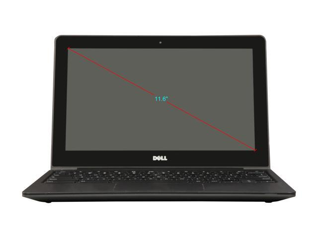 "Refurbished: DELL Chromebook 11 CB1C13 Grade C Chromebook Intel Celeron 2955U (1.40 GHz) 4 GB Memory 16 GB SSD 11.6"" Chrome OS"