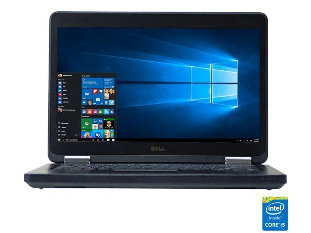 "Refurbished: DELL Grade B Laptop E5440 Intel Core i5 4th Gen 4200U (1.60 GHz) 4 GB Memory 128 GB SSD 14.0"" Windows 10 Home 64-Bit"