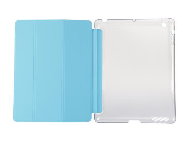 Refurbished: Krazilla Blue iPad 4 Back + Front Cover Blue UPC 202741240015 Model Kzi1100 Blue, Open Box Like New