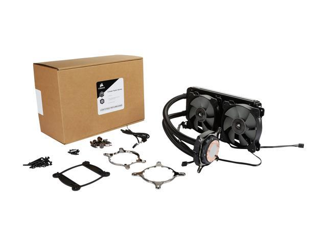 Refurbished: Corsair Certified Hydro Series H100i v2 Extreme Performance Water/Liquid CPU Cooler (CW-9060025-WW/RF)