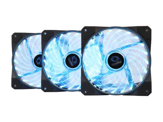 Raidmax RGB Fan NV-A120R3 120 mm x 3 RGB LED Case Fan