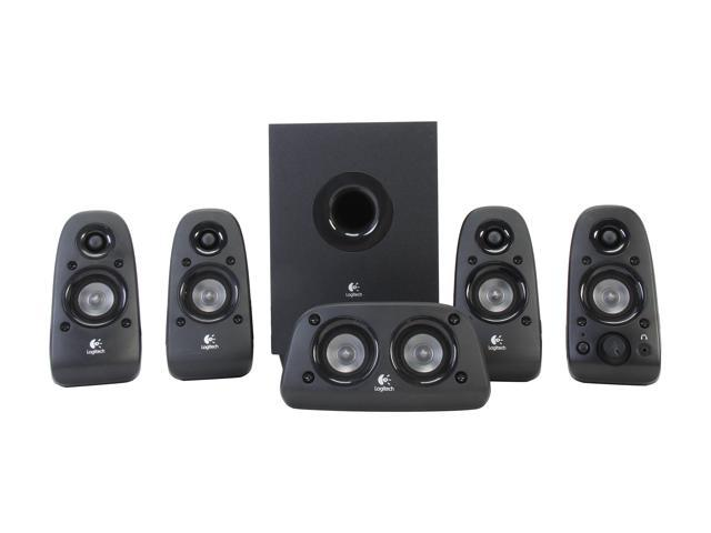 Refurbished: Certified Refurbished 980-000430 Logitech  Z506 5.1 Surround Sound 3D Ported Stereo 75 Watts Home Theater Speakers (A-Grade)