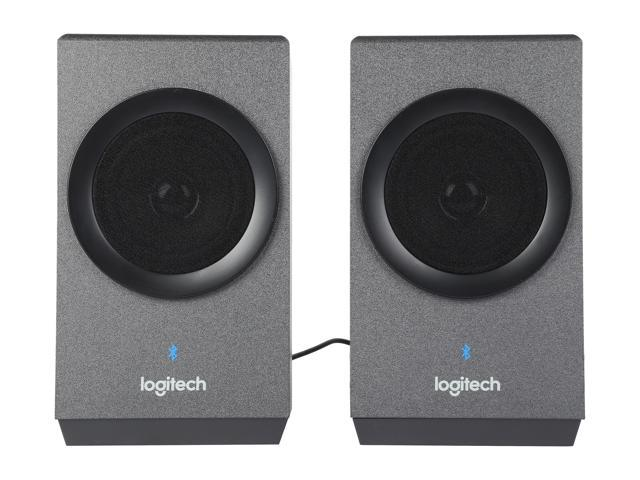 Refurbished: Logitech Z337 40 Watts 2.1 Home Audio Speakers