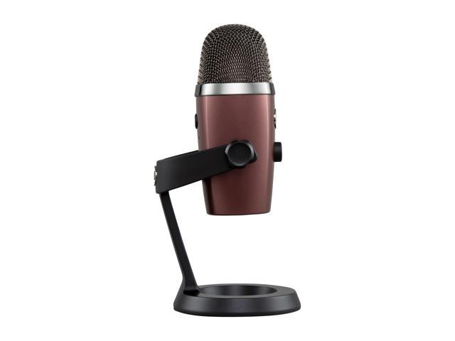 Blue Microphones Yeti Nano Premium USB Mic for Recording and Streaming-in RED ONYX