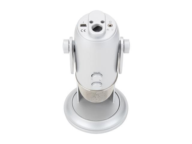 Blue Microphones Yeti 1141 Silver USB Connector Yeti Podcaster Bundle