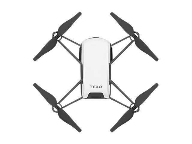 DJI Tello 720p Video Recording Drone Traditional Video Camera by Ryze, CP.PT.00000252.01, White