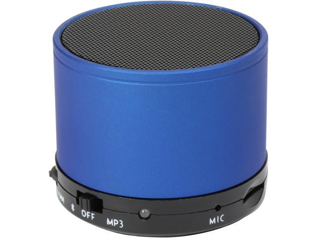 Refurbished: Krazilla KZS1001 Blue Portable Speakers, Grade A, New Open Box