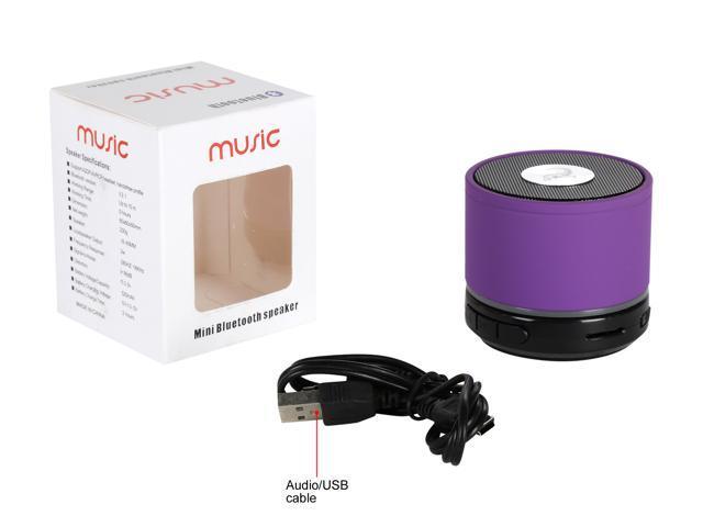 Refurbished: Krazilla KZS1001 purple Portable speakers, new-open box