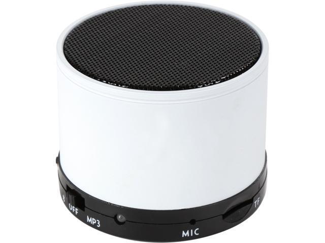 Refurbished: Krazilla KZS-1001 White Bluetooth Portable Speakers, Grade A, New Open Box