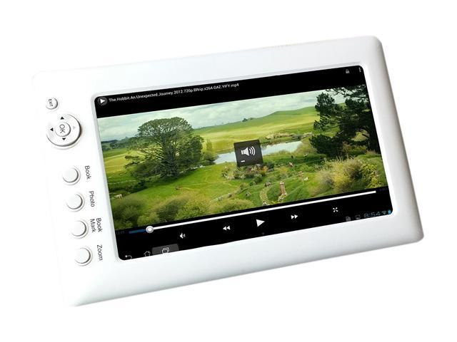 """Sungale CD706A Multimedia Player, MP3 Player, MP4 Player, Full Color 7"""" High Resolution Screen, Display Video, Photo, Audio, E-book, Suitable for Car Headrest, Compatible with SD/SDHC Cards"""