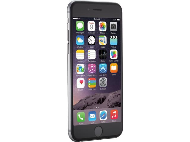 "Refurbished: Apple iPhone 6 4G LTE Unlocked GSM 8 MP Camera Smartphone, Grade C Condition 4.7"" Space Gray 16GB 1GB RAM"