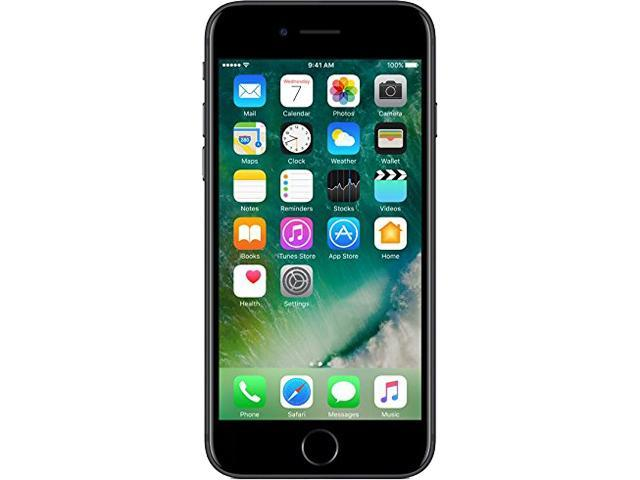 Refurbished: Apple iPhone 7 Black T-Mobile Cell Phone