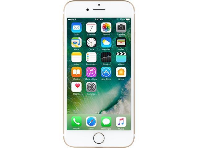 "Refurbished: Apple iPhone 7 128GB 4G LTE Cell Phone 4.7"" 2GB RAM Gold, Apple Certified Pre-owned Like New, Apple Warranty"