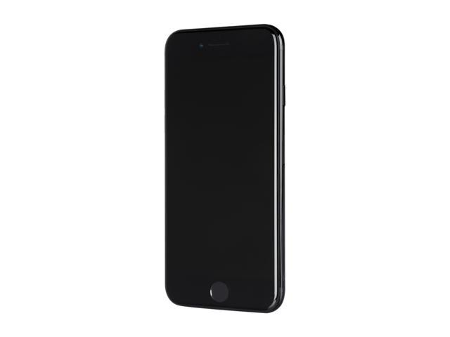 "Refurbished: Apple iPhone 7 128GB 4G LTE Cell Phone 4.7"" 2GB RAM Jet Black, Apple Certified Pre-owned Like New, Apple Warranty"