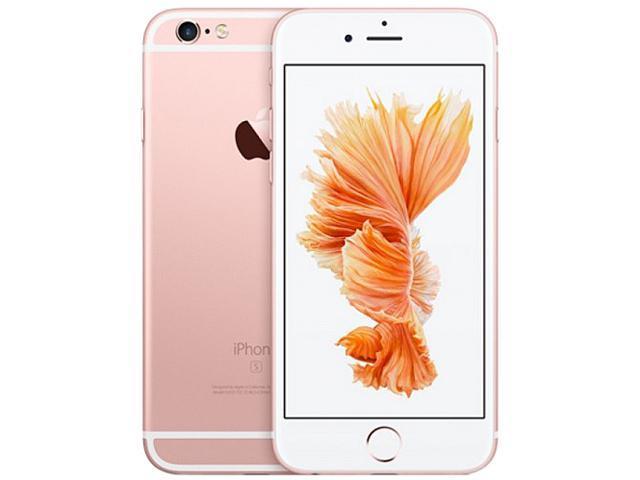 "Refurbished: Apple iPhone 6s 4G LTE Unlocked GSM Dual-Core Phone w/ 12 MP Camera 4.7"" Rose Gold 32GB 2GB RAM"