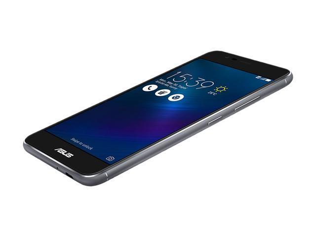 "Refurbished: Asus ZenFone 3 MAX ZC520TL 16GB 4G LTE Unlocked Cell Phone 5.2"" 2GB RAM Gray"