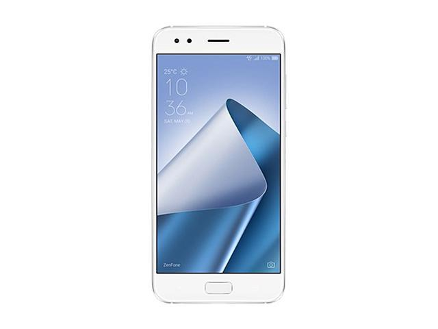 ASUS ZenFone 4, 5.5-inch, FHD IPS, 4GB RAM, 64GB storage Dual SIM, Unlocked Cell Phone, US/Canada Warranty,Moonlight White (ZE554KL-S630-4G64G-WH)