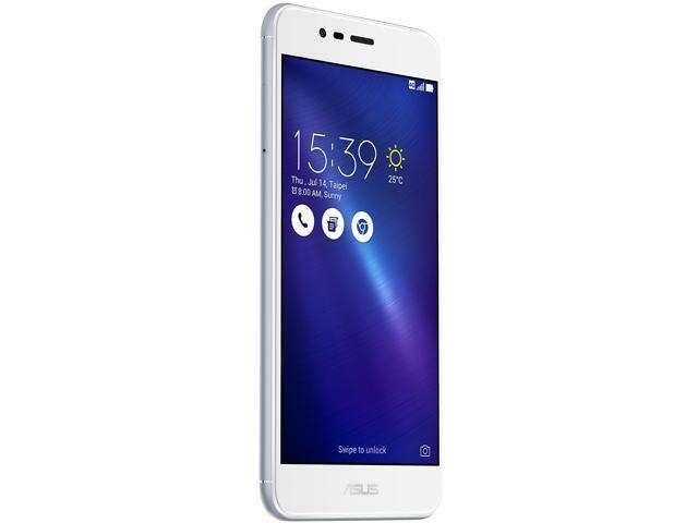 "Refurbished: Asus ZenFone 3 MAX ZC520TL 4G LTE Unlocked Cell Phone 5.2"" Silver 16GB 2GB RAM"