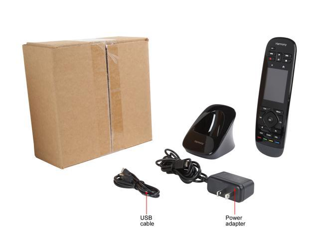 Refurbished: Logitech Harmony Touch Universal Remote with Color Touchscreen - Black (915-000198) - OEM
