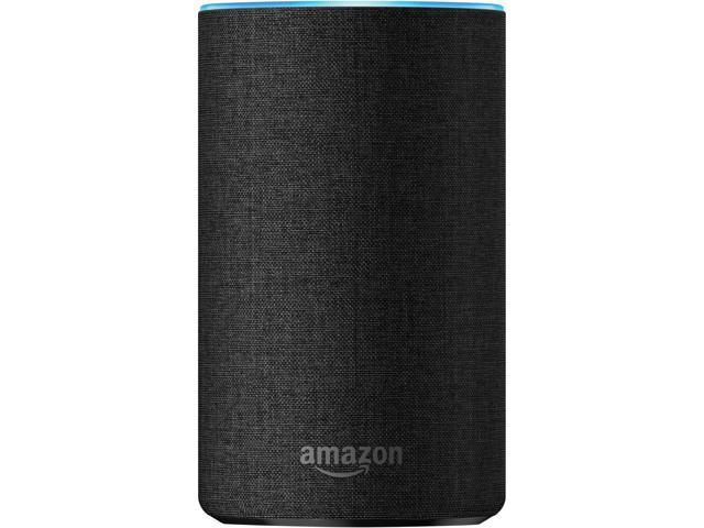 All-new Echo (2nd Generation) with improved sound, powered by Dolby, and a new design - Charcoal Fabric