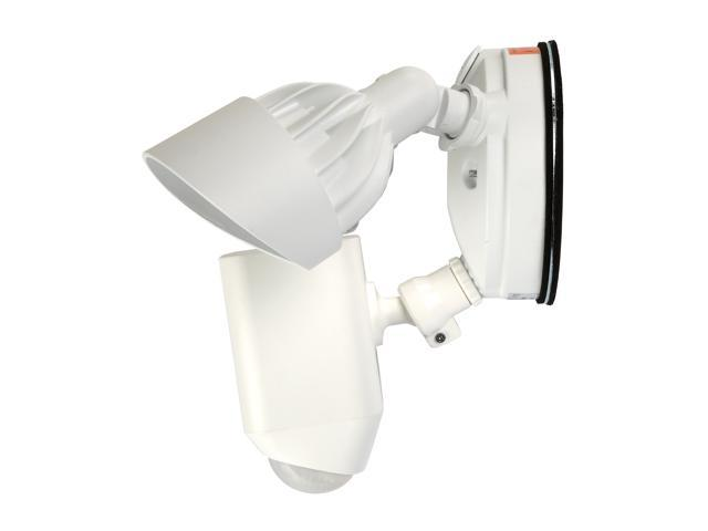 Ring Floodlight Cam, Motion-Activated HD Security Camera with built-in Floodlights, a Siren Alarm and Two-Way Talk (White)