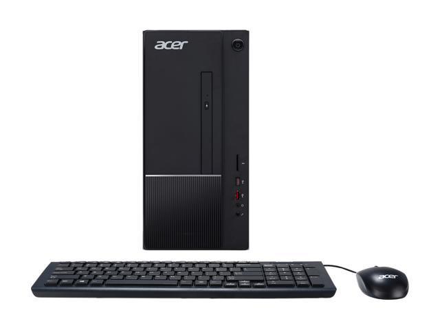Acer Desktop Computer Aspire T TC-865-NESelecti5 Intel Core i5 8th Gen 8400 (2.80 GHz) 8 GB DDR4 1 TB HDD Intel UHD Graphics 630 Windows 10 Home 64-Bit
