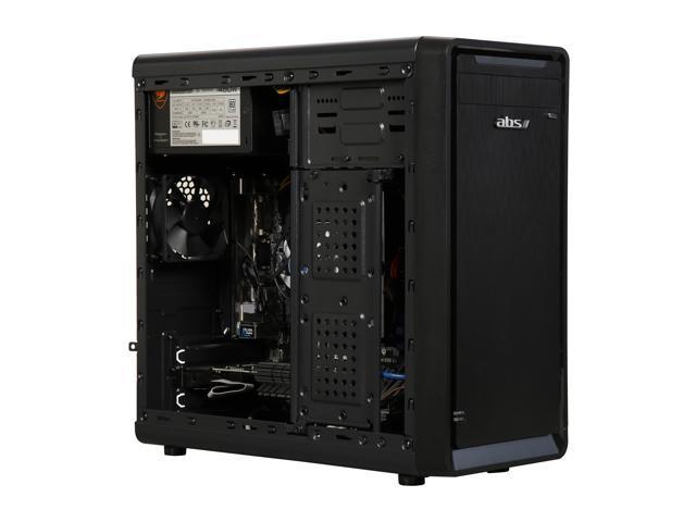 ABS Simpli Gaming Desktop PC NVIDIA GeForce GT 730 2 GB AMD Ryzen 3 1200 (3.10 GHz) 8 GB DDR4 1 TB HDD Windows 10 Home 64-Bit ALA088