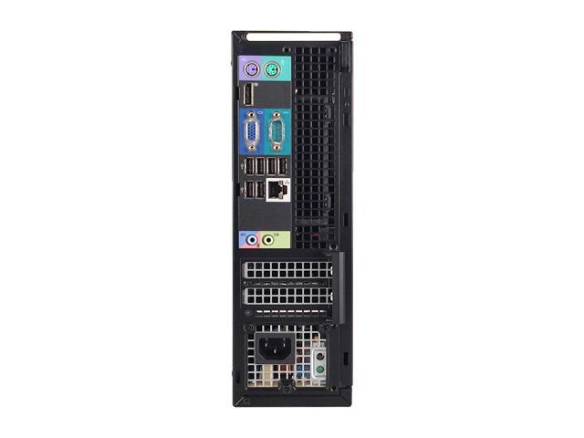 Refurbished: Dell Grade A OptiPlex 790 Small Form Factor, Intel Core i5-2400 3.10 GHz up to 3.40 GHz, 8 GB DDR3, 320 GB HDD, DVD-ROM, Intel HD Graphics 2000, Windows 7 Professional (English/Spanish), 1 Year Warranty