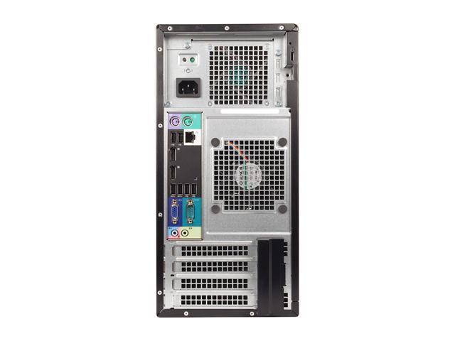 Refurbished: DELL Desktop Computer OptiPlex 9010 Intel Core i5 3rd Gen 3470 (3.20 GHz) 8 GB DDR3 320 GB HDD Intel HD Graphics 2500 Windows 10 Pro Multi-Language, English / Spanish