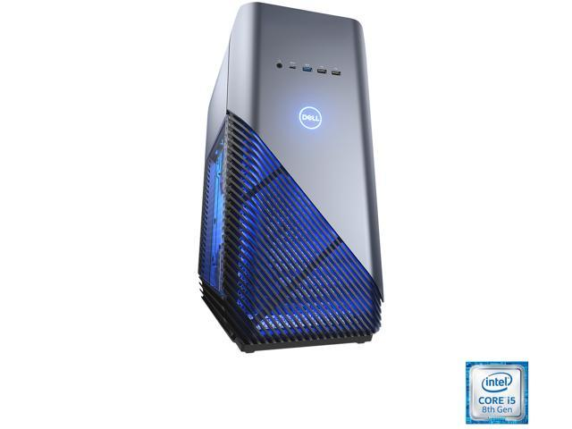 DELL Gaming Desktop Inspiron i5680-5790BLU Intel Core i5 8th Gen 8400 (2.80 GHz) 8 GB DDR4 1 TB HDD NVIDIA GeForce GTX 1060 Windows 10 Home 64-Bit