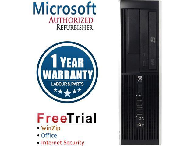 Refurbished: HP Desktop Computer Elite 8000-SFF Core 2 Quad Q6600 (2.40 GHz) 16 GB DDR3 2 TB HDD Intel GMA 4500 Windows 10 Pro