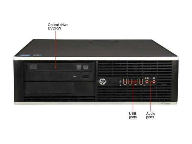 Refurbished: HP Compaq Desktop Computer 6300 Pro Intel Core i5 3rd Gen 3470 (3.20 GHz) 8 GB 500 GB HDD Windows 10 Pro 64-Bit
