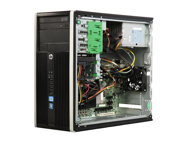 Refurbished: HP Compaq Desktop Computer 6300 Pro Intel Core i5 3rd Gen 3470 (3.20 GHz) 8 GB 500 GB HDD Windows 10 Pro 64-Bit