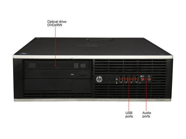 Refurbished: HP Desktop Computer 6305 A6-Series APU A6-5400B (3.60 GHz) 4 GB 250 GB HDD AMD Radeon HD 7540D Windows 7 Professional