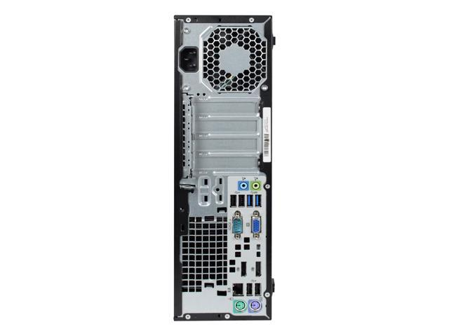 Refurbished: Refurbished HP EliteDesk 800G1 Slim/Small form factor Intel Core i5 4570 3.20 GHz / 8 GB DDR3 / 240G SSD / DVD / WIFI / Windows 10 Professional 64 Bit / 1 Year Warranty - OEM