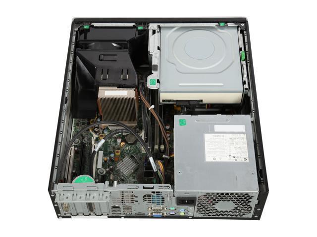 Refurbished: HP Grade A Desktop Computer 8200 Intel Core i5 2nd Gen 2400 (3.10 GHz) 4 GB DDR3 500 GB HDD Windows 7 Professional 64-Bit USB Wi-Fi