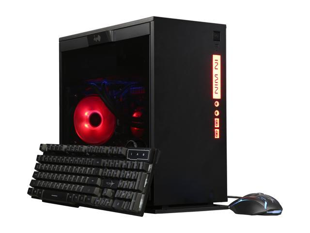 SkyTech Gaming Desktop ST-LEGACYMINI-1700-1070Ti Ryzen 7 1st Gen 1700 (3.00 GHz) 8 GB DDR4 500 GB SSD NVIDIA GeForce GTX 1070 Ti Windows 10 Home 64-bit