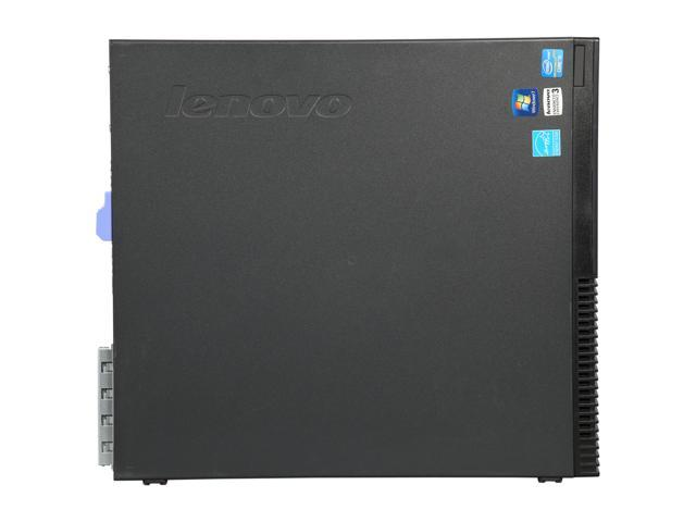 Refurbished: Lenovo Grade A Desktop Computer M82 Intel Core i5 3rd Gen 3470 (3.20 GHz) 4 GB DDR3 250 GB HDD Windows 7 Professional 64-Bit (USB Wi-Fi Dongle Included)