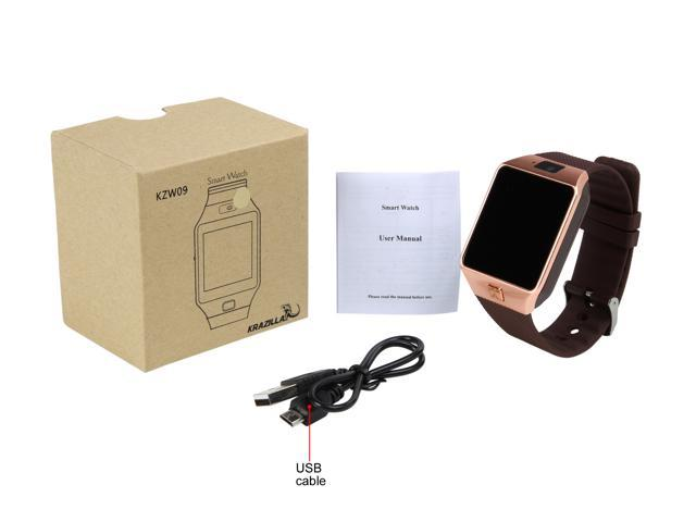 Krazilla Bluetooth Smart Watch for Android Phones - Rose Gold